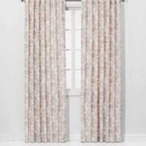 Charade Floral Light Filtering Curtain Panel Pink